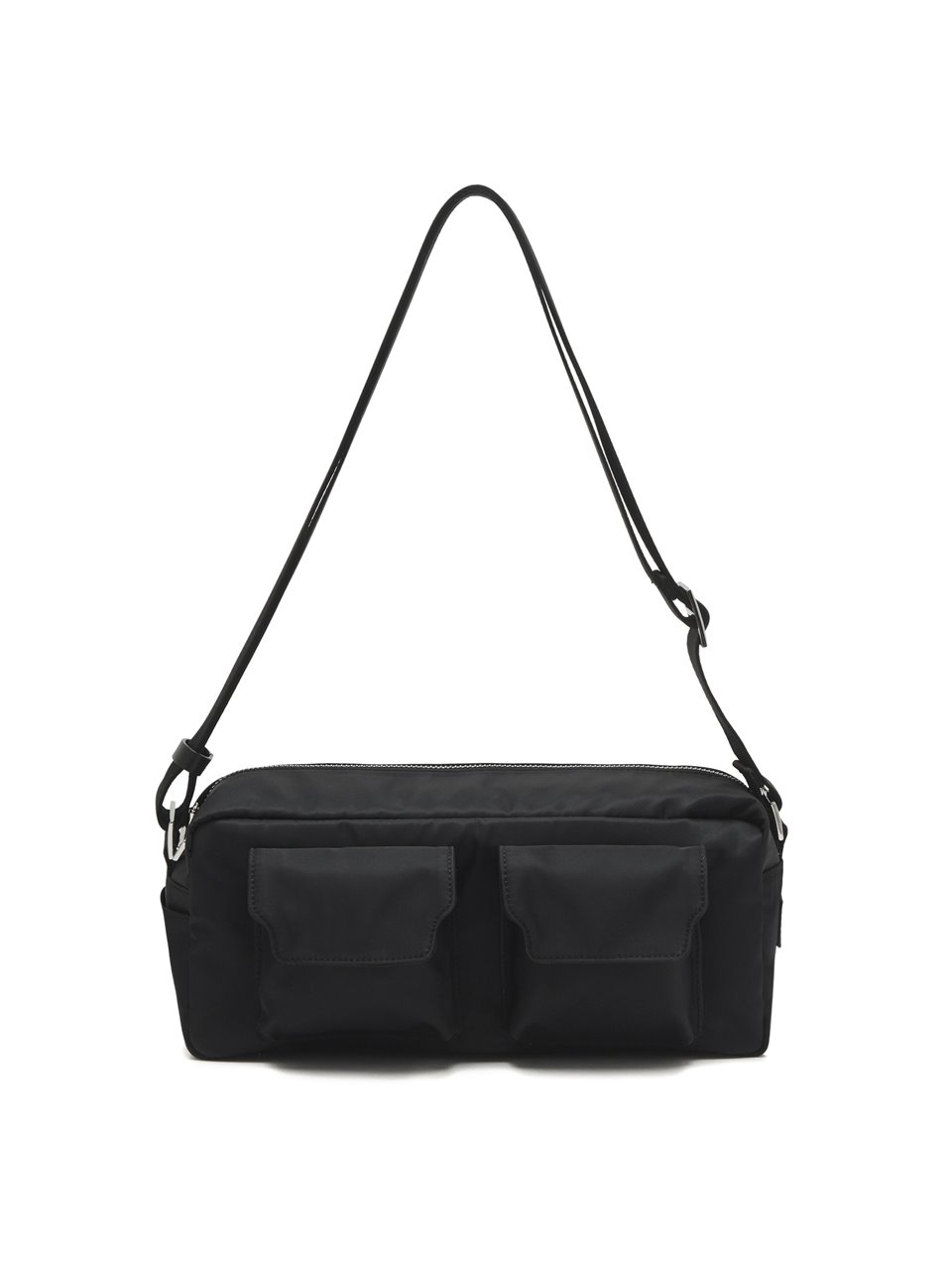 BUTTER TWO-POCKET NYLON_black