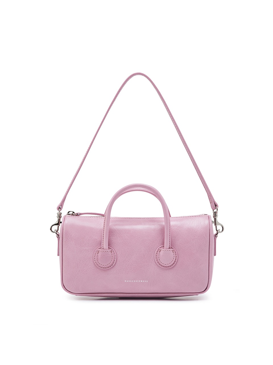 [21SS] ZIPPER SMALL_pink crinkle
