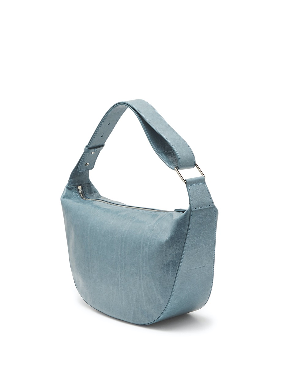 [21SS] MOSS HALF LEATHER_sky blue crinkle